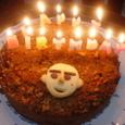 リチャードくんの誕生日ケーキ2007