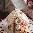 お菓子の家の苺ケーキ