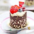 シフォンカップケーキ