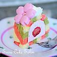 苺とマスカルポーネのひな祭りケーキ
