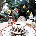 クリスマスプディング風クグロフケーキ