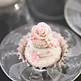 ウェディングケーキの3Dクッキー
