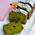 抹茶と大納言のパウンドケーキ