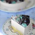 紫陽花ケーキ