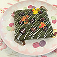 濃抹茶のWマロンケーキ