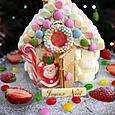 お菓子の家(いちごショートケーキ)