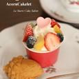 フルーツカップケーキ&どんぐりケーキレット