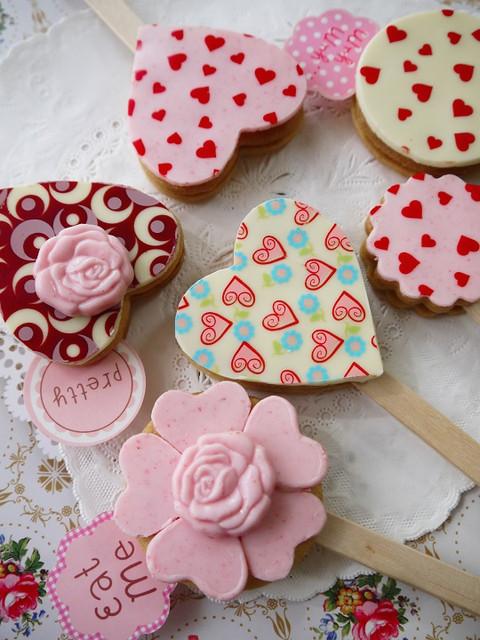 2016バレンタインのチョコクッキーバー
