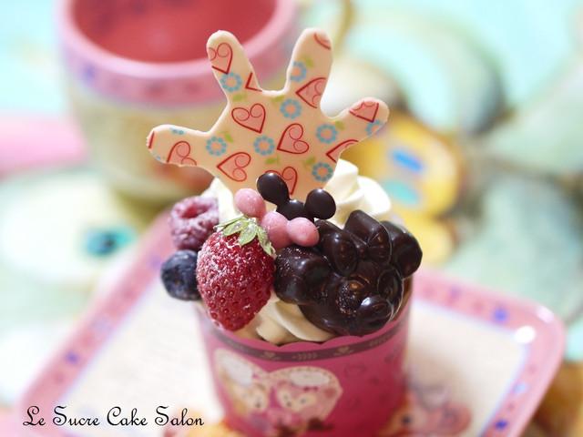 ダッフィーのハニーカップケーキ
