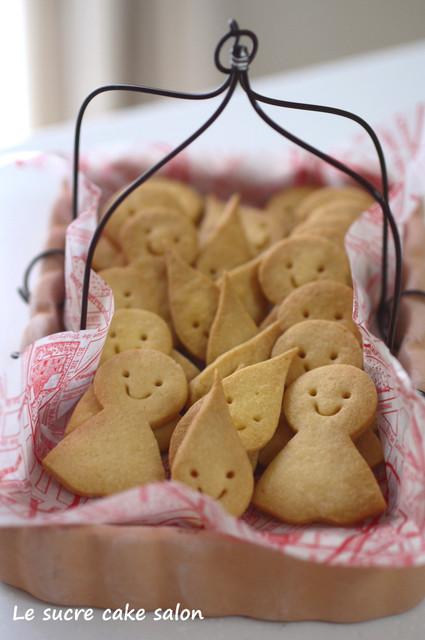 てるてるクッキー&雨の雫クッキー