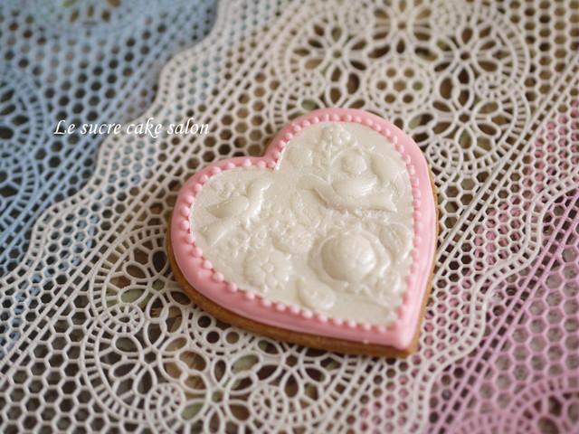 カメオブローチ風クッキー